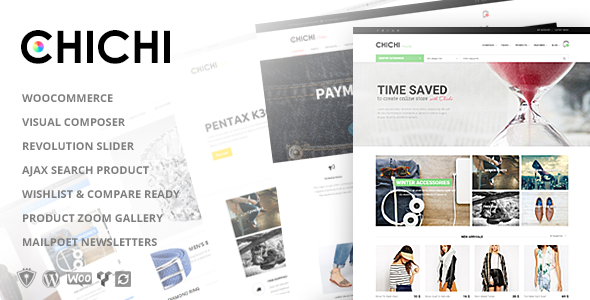 Chichi Woocommerce WordPress Theme