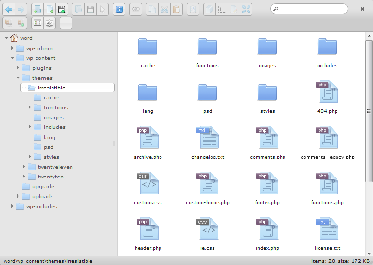 Frontend File Manager