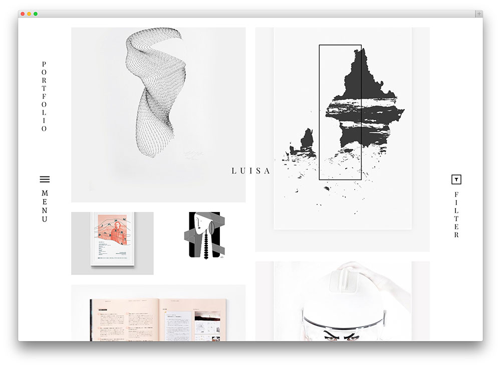 luisa wordpress theme