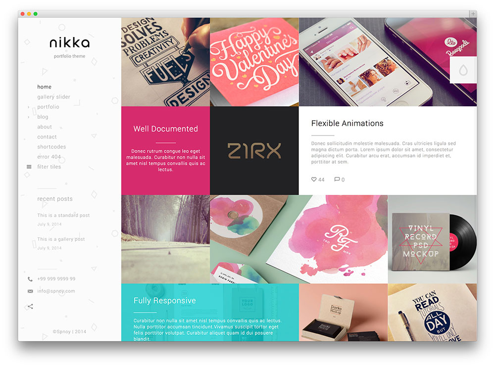 nikka wordpress theme