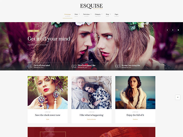 esquise magazine wordpress