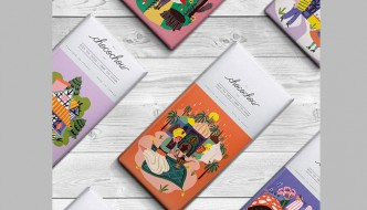 FAIRYTALE CHOCOLATE BARS (Chocochou) Created By: Marijke Buurlage
