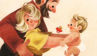 WHEN SANTA WAS A BABY Created By: Genevieve Godbout