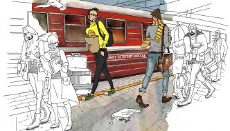 ILLUSTRATIONS FOR BANK ST. PETERSBURG Created By: Darya Malikova