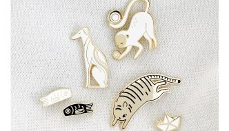 ENAMEL PINS Created By: Maggie Chiang